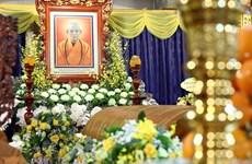 Le Président Nguyen Xuan Phuc rend un dernier hommage au vénérable Thich Pho Tue