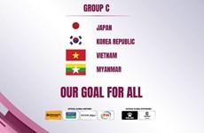 Coupe d'Asie féminine de football: l'équipe du Vietnam figure dans le groupe C