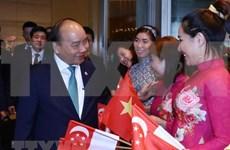 Le Premier ministre Nguyen Xuân Phuc termine ses activités au 33e Sommet de l'ASEAN