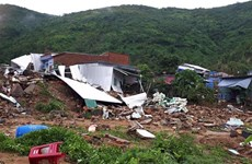 Khanh Hoa : le typhon Toraji fait 23 morts et blessés