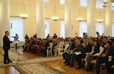 Ouverture du premier Forum des jeunes Russie-Vietnam à Saint-Pétersbourg