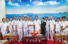 Renforcement de la coopération entre les forces marines Vietnam-Thaïlande