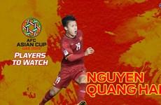 Asian Cup 2019 : Fox Sports Asia apprécie le rôle de Nguyen Quang Hai