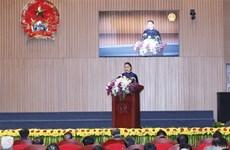 La présidente de l'Assemblée nationale travaille avec le Parquet populaire suprême
