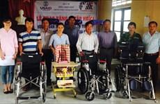 Aide de l'USAID pour des handicapés à Thua Thien-Hue