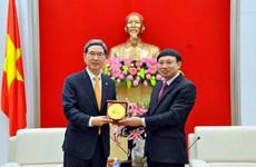 Des députés sud-coréens en visite dans la province de Quang Ninh