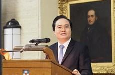 Le Vietnam et le Royaume-Uni renforcent leur coopération dans l'éducation