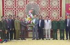 Renforcement de l'amitié entre le Laos et Nghe An