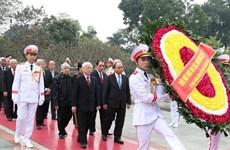 Anniversaire de la fondation du Parti : hommage posthume au Président Ho Chi Minh