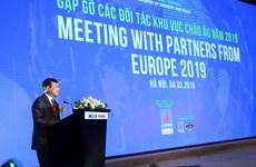 « Rencontre avec des partenaires européens en 2019 » à Hanoï
