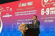 Bois : Ouverture de la foire internationale VIFA-EXPO 2019 à Ho Chi Minh-Ville