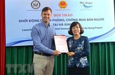 Ha Giang : Lancement d'un projet de lutte contre la traite des êtres humains