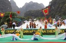 Ouverture de la Fête de Trang An à Ninh Binh
