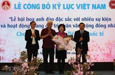 La fête des fleurs de cerisier fait un record au Vietnam