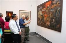 Exposition sur la campagne de Dien Bien Phu au Musée national des beaux-arts