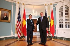 Le vice-PM et ministre des AE Pham Binh Minh en visite officielle aux Etats-Unis