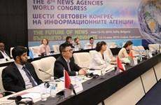 Clôture des sessions de discussion du 6e congrès international des agences de presse