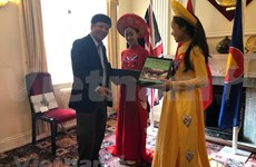 Une délégation du Comité d'État chargé des Vietnamiens résidant à l'étranger au Royaume-Uni