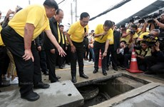 La Thaïlande construit des réservoirs d'eau souterrains à Bangkok face aux inondations