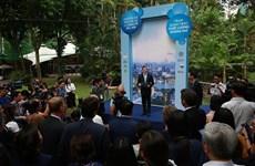 Une autre station de mesure de la qualité de l'air est implantée à Hanoï