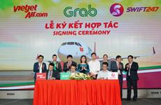 Vietjet coopère avec Swift247 et Grab dans les services de transport et de livraison