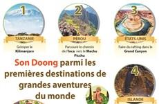 Son Doong parmi les premières destinations de grandes aventures du monde