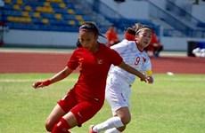 Le Vietnam en tête du groupe B au Championnat féminin de l'AFF