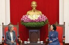 L'OIT s'engage à aider le Vietnam à améliorer ses politiques en matière de travail et de bien-être