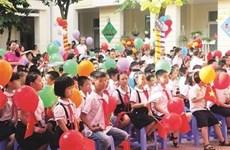 Les dirigeants partagent la joie de la nouvelle année scolaire avec les élèves du pays