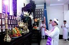 Les caodaïstes célèbrent le 93e anniversaire de leur secte