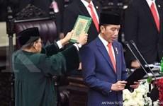 Indonésie : le président Joko Widodo prête serment pour un second mandat