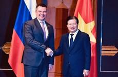 Le Comité intergouvernemental Vietnam-Russie tient sa 22e session à Hanoï
