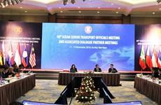 Ouverture de la 48e réunion des hauts officiels des Transports de l'ASEAN à Hanoï