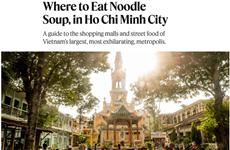 Le New York Times présente des traits typiques de Ho Chi Minh-Ville