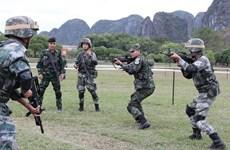 Clôture de l'exercice antiterroriste conjoint des pays de l'ADMM+