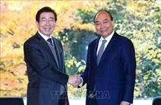 Le Premier ministre Nguyen Xuan Phuc reçoit le maire de Séoul