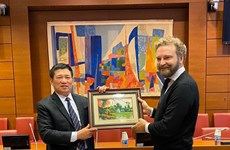 Une délégation de l'Audit d'État du Vietnam en visite de travail en France