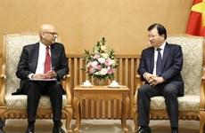 Promotion de la coopération entre la BM et le Vietnam dans l'énergie