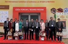 Vietnam-Inde: Intensification de la coopération dans la médicine traditionnelle