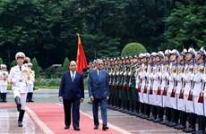 Le Premier ministre malaisien Mahathir Mohamad en visite officielle au Vietnam