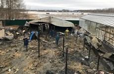 Un incendie à Moscou fait d'éventuelles victimes vietnamiennes