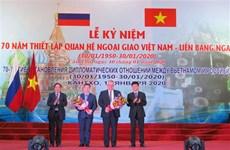 Can Tho célèbre le 70e anniversaire des relations Vietnam-Russie