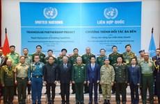 Maintien de la paix : formation de formateurs en matière d'opération d'équipements poids lourds