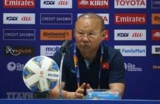 Football : l'entraîneur-chef Park Hang-seo accepte une sanction infligée par l'AFC