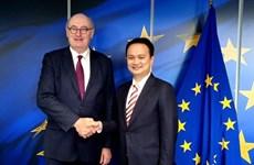 L'Indonésie et l'UE s'efforcent d'achever en 2020 les négociations sur leur accord économique