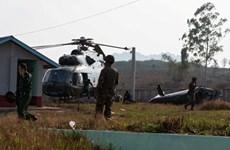 Un hélicoptère militaire transportant des diplomates étrangers s'écrase au Myanmar