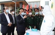 Le PM salue les efforts des forces militaires dans la lutte contre le COVID-19