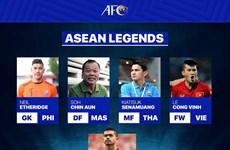 Football : l'attaquant vietnamien Le Cong Vinh nommé «légende de l'ASEAN»