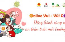 """""""Online vui – Vùi Covid"""" – sécuriser l'utilisation de l'Internet par les enfants"""