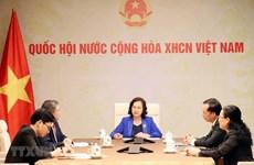 Laos-Vietnam: conversation téléphonique entre les deux présidentes de l'AN
